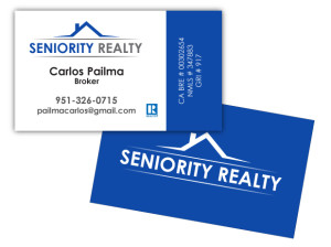 Seniority Realty - Business Card