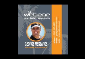 Webene-bcard