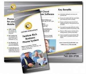 Connect Everywhere - Tri-fold brochure