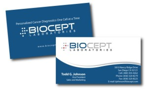 Biocept - Business Card