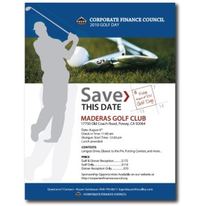 Corporate Finance Council - Flyer