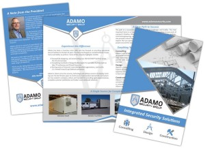 Adamo Security - Bi-fold brochure